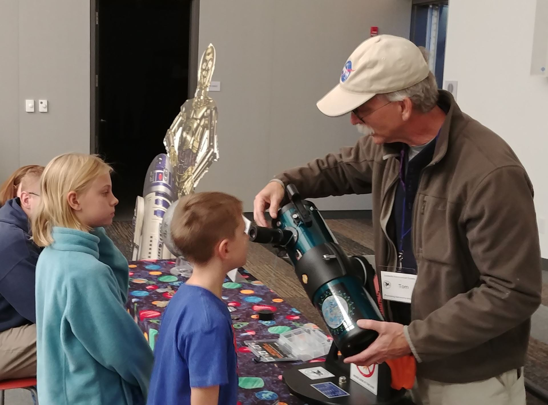 LAS Library Telescope Program with Tom Bibb