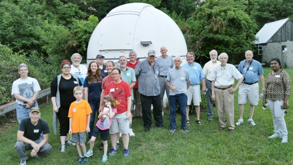 LAS visits the UofL Observatory